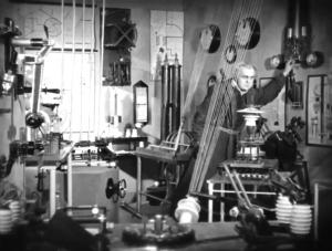 Rotwang's lab