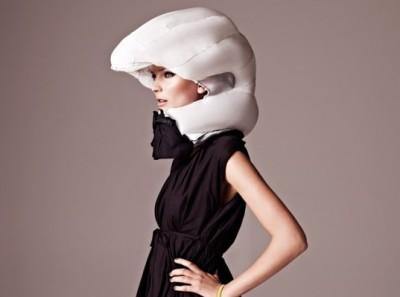 Hövding airbag-helmet