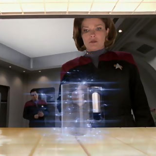 Star Trek replicator technology