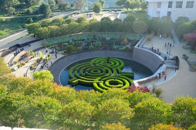 getty labyrinth