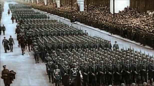 Nazi troops