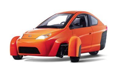 Elio mini-car
