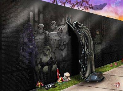 Death Star memorial