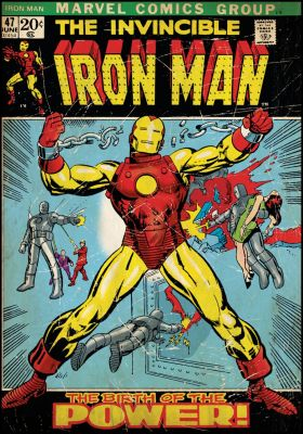 1960s Iron Man cover