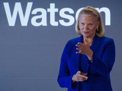 Ginni Rometty, the chairman and CEO of IBM