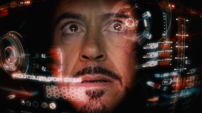 Iron Man control interface