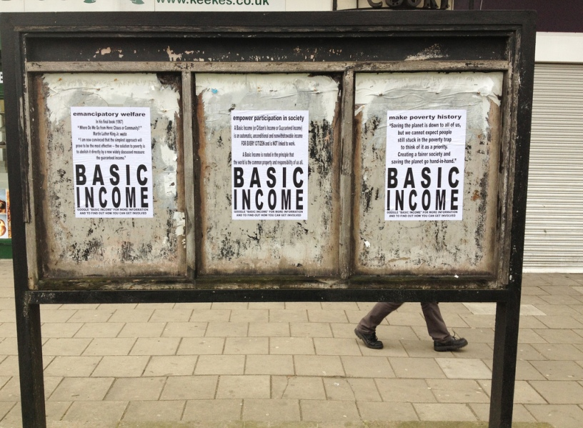 Universal Basic Income posters