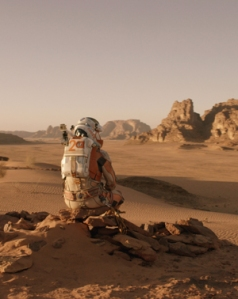 The Martian's Watney, alone on Mars