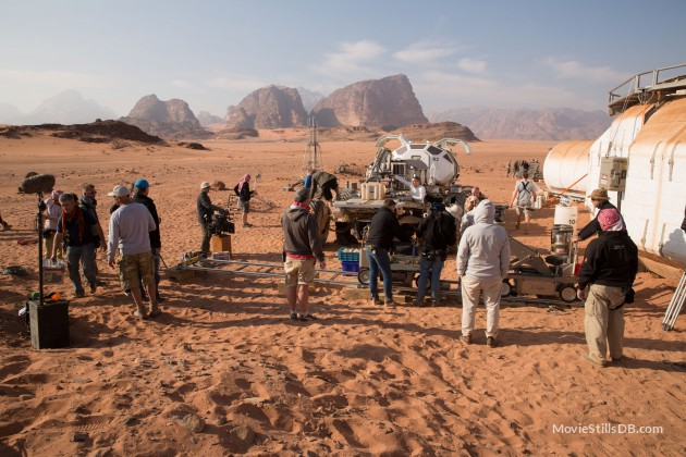 Production of The Martian