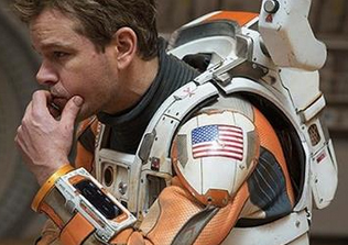 Matt Damon as The Martian