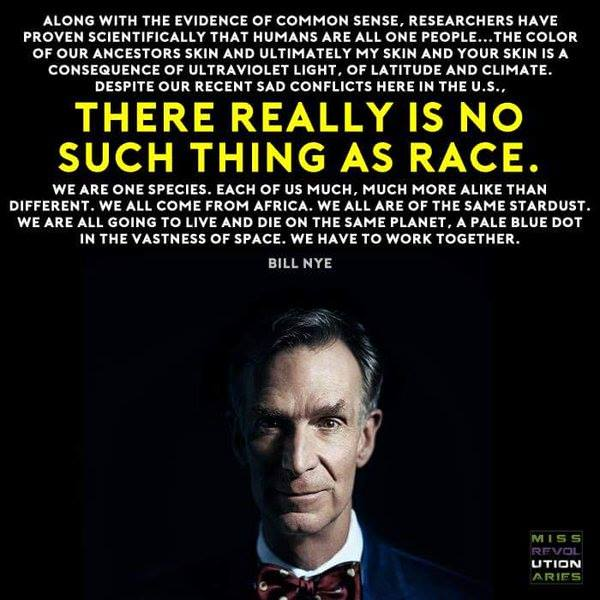 Bill Nye on race
