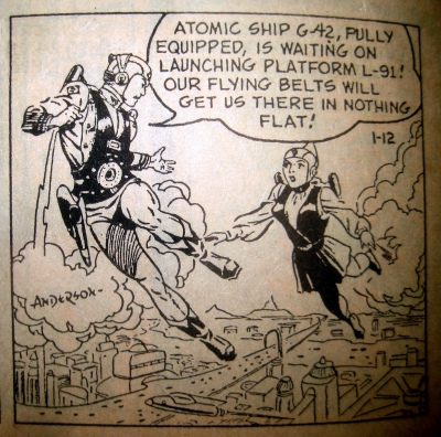 Buck Rogers comic strip