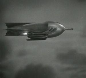 Buck Rogers rocketship