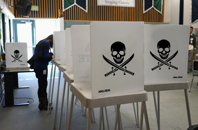voting booths hacked
