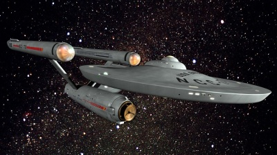 The U.S.S. Enterprise from the original series