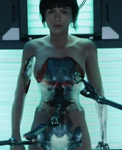 Ghost in the Shell's Scarlett Johansson