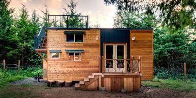 a modern tiny home