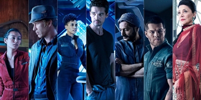 The Expanse main characters