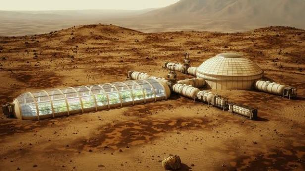 proposed habitat on Mars