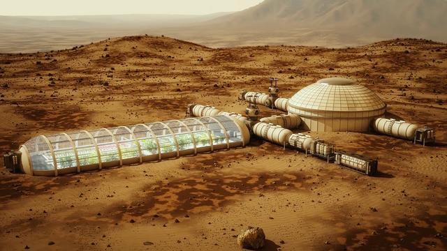 habitat on Mars