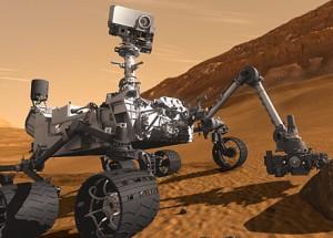 Curiosity explores Mars