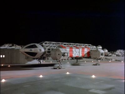 Space: 1999 Eagle on the pad