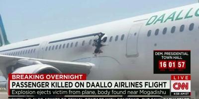 Somalia airplane explosion