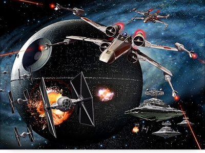 battle over the Death Star