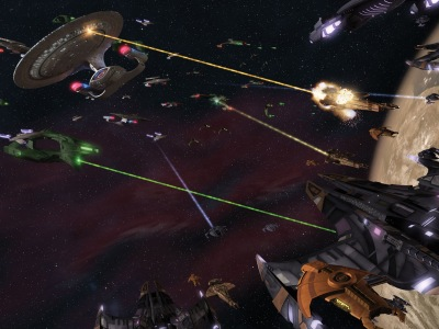 Star Trek space battles