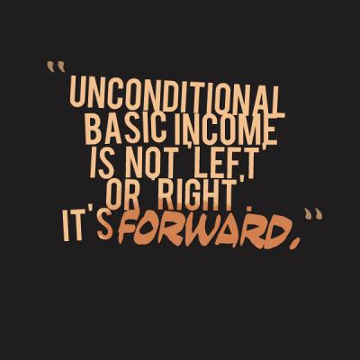 UBI is forward
