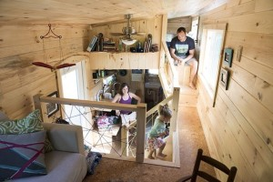 two-loft tiny house