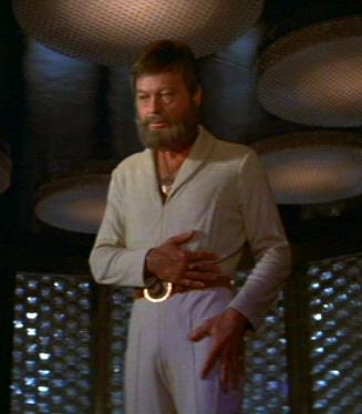 McCoy in transporter