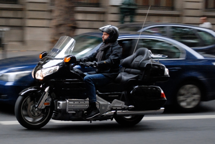 Honda Goldwing in Paris