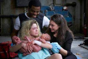 Helena gives birth