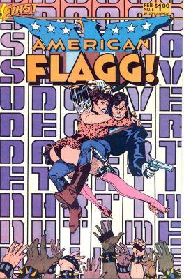 American Flagg! by Howard Chaykin