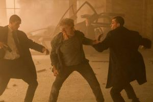 Deckard fights