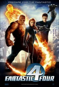 Fantastic Four from the 2004 movie