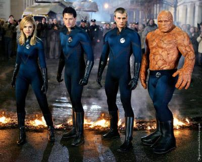 Fantastic Four in uniform