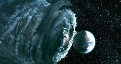 Galactus as a cloud of dirt