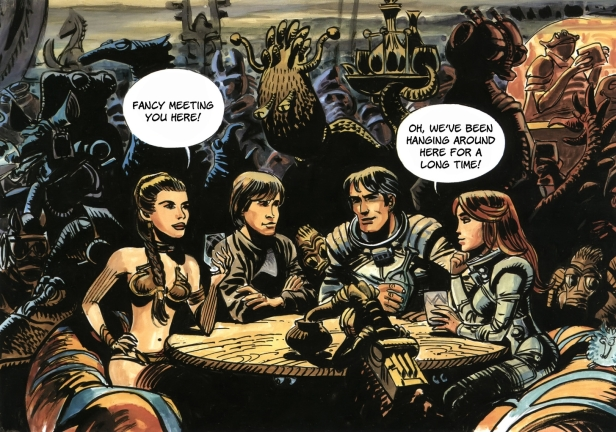 Valerian meets Star Wars