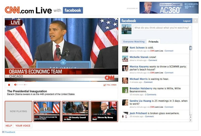 cnn.com live on facebook