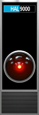 the eye of HAL 9000