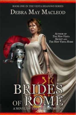cover for Brides of Rome, created by Rita Toews