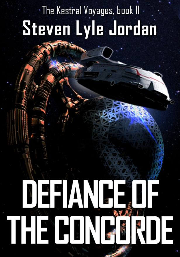 cover of Defiance of the Concorde by Steven Lyle Jordan.