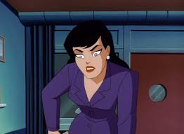 A confident and self-assured Lois Lane from Superman the Animated series