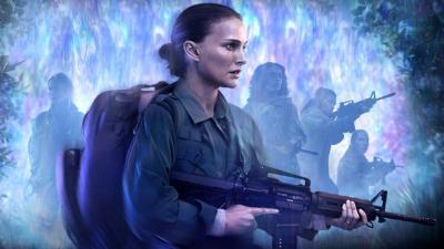 Natalie Portman and her team enter the Shimmer in Annihilation.