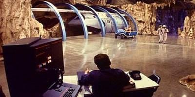 Genesis II underground train depot