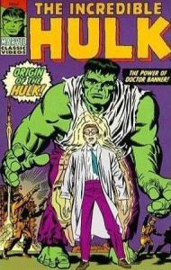 The original Hulk comic book cover