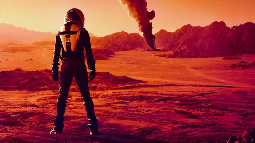 "NatGeo's ""Mars"" TV series"