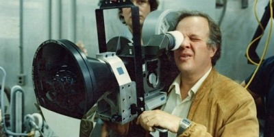 film-maker and special effects genius Douglas Trumbull behind the camera